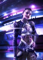 Mass Effect - Jack by ToxicQuinn