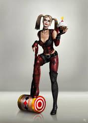 Harley Quinn by ToxicQuinn