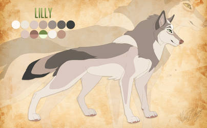 Reff Sheet - Lilly by Kairi292