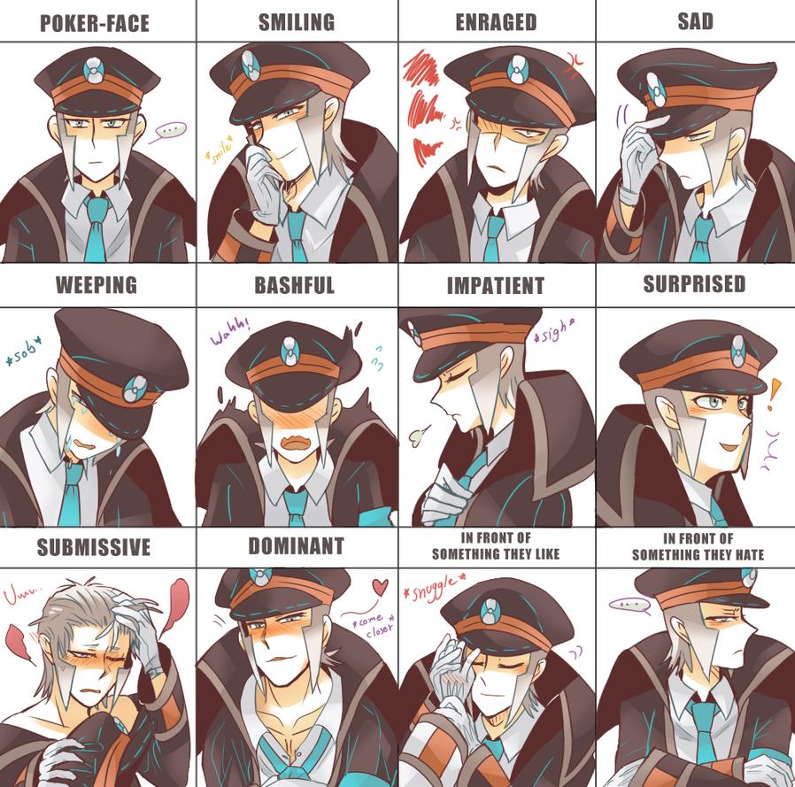 Anime Nobori Expression Meme By Leaf Subway On Deviantart