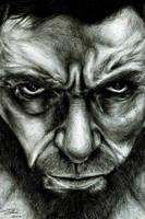 Hugh Jackman by Mixielion
