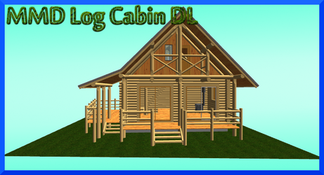 MMD Log Cabin Download by AkitaFanZ
