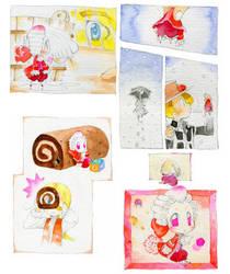 Une lilliputiene rouge.two by daichikawacemi