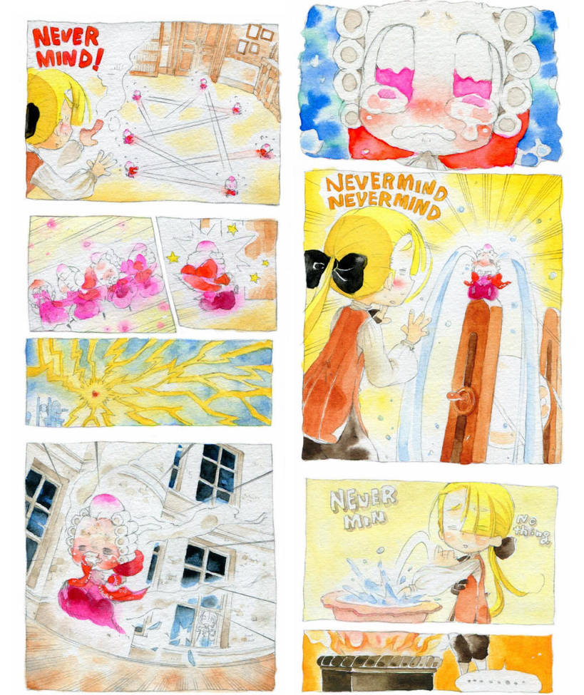 Une lilliputiene rouge.ten by daichikawacemi