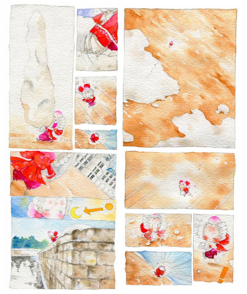 Une lilliputiene rouge.eleven by daichikawacemi