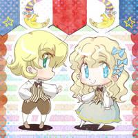 Phillip et Morphy by daichikawacemi
