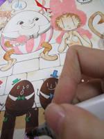 Easter2017 saiyuki by daichikawacemi
