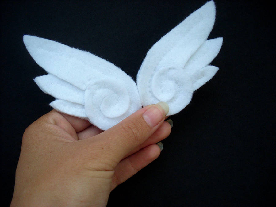 Anime Angel Wing Hair Clips By Jloli On Deviantart