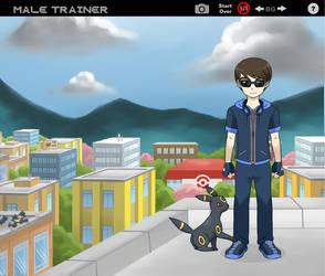me as a pokemon trainer by XzTheFallen