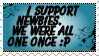 -I Support Newbies- by Amy-pink