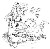 Bakemono- Dedica Koukyou Zen by xiannustudio
