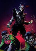 The Batman Who Laughs by kaledfwlch