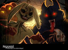 Happy Halloween by Merolett