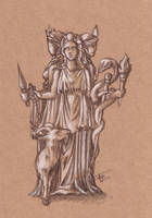 Hecate by n-o-s-4-a-2