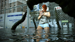Elena Harper - Tentacle Peril by Ultimate-Clash