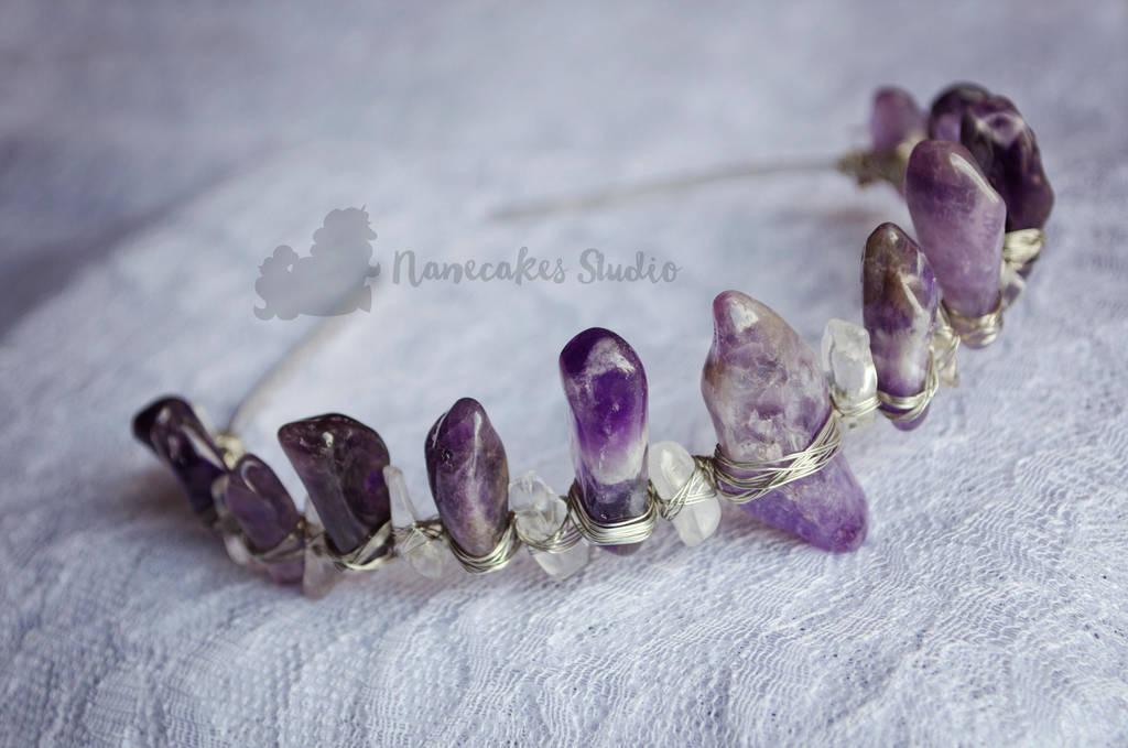 Amethyst Crown by nanecakes