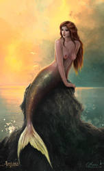 Asteria, Queen of Merfolk by maril1