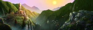 Rivendell by maril1