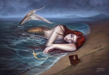 Mermaid's Tear by maril1
