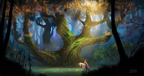 Nightforest by maril1