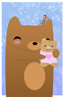 Katsu's Bear by cubecrazy2