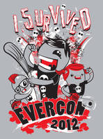 I Survived Shirt Design for Evercon by cubecrazy2