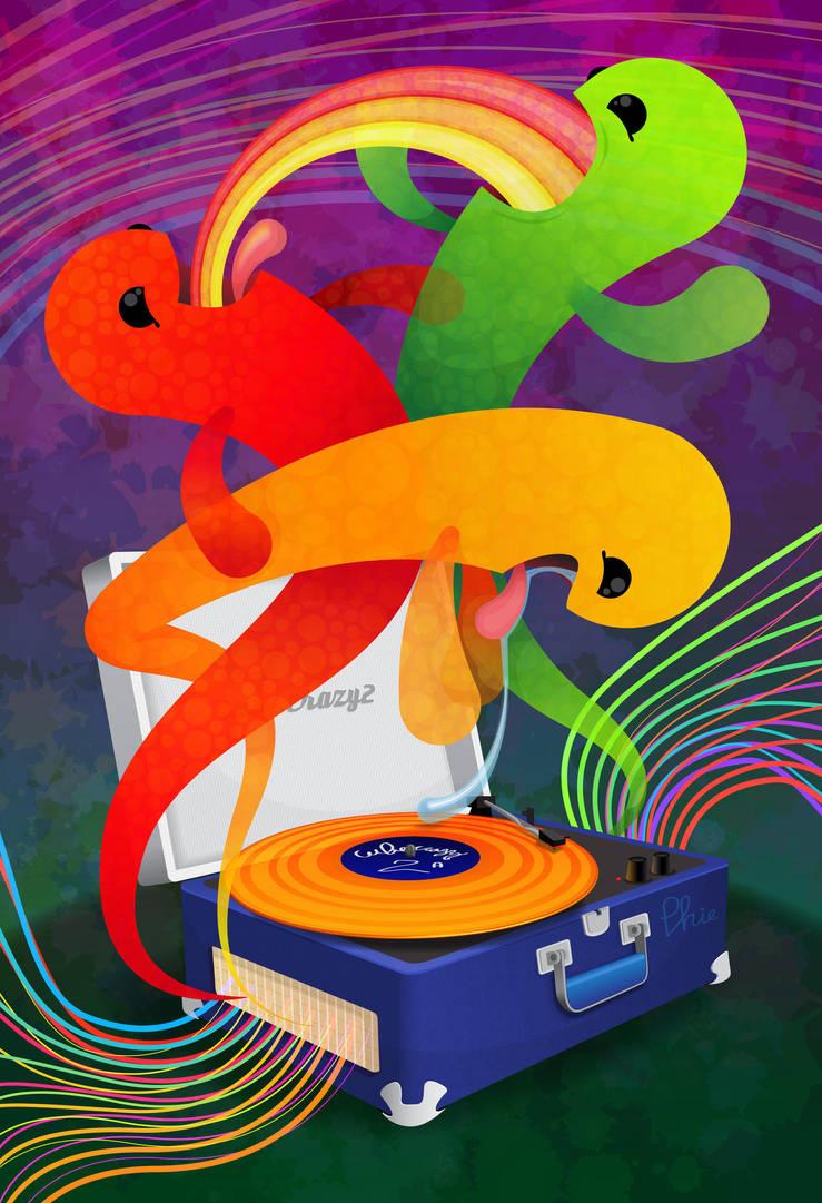 Vinyl Visitors by cubecrazy2