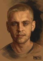 Portrait Study by MikeMeth