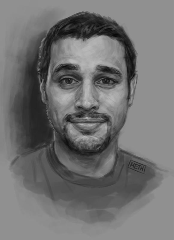 Me Sketch by MikeMeth