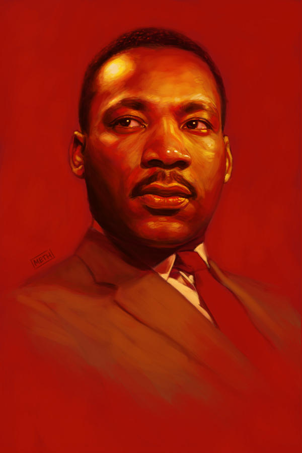 Dr. King by MikeMeth