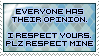 Stamp - Respect by MauserGirl
