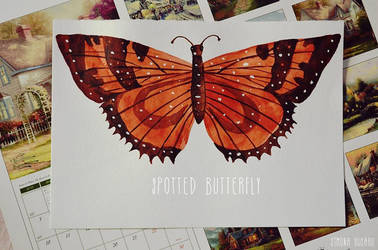 Spotted Butterfly by magicbut3rfly