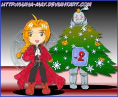 2009 advent calendar -02 by Hana-May