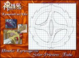 Kannazuki Solar Sword's Tsuba by Hana-May