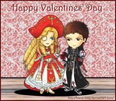 Trinity Blood - Happy Valentine's Day by Hana-May