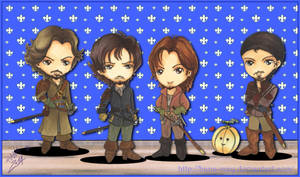 BBC The Musketeers - One for All, All for One by Hana-May