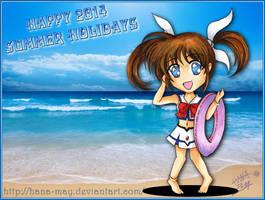2014 Summer Calendar - 01 by Hana-May
