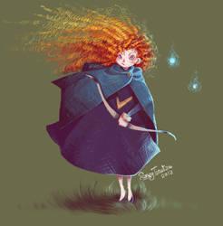 Brave Merida by RonzyLady