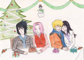 Merry Christmas in Konoha by NaruHina1526