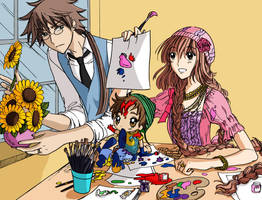Mizu-Kobato and Fujimoto Color by NaruHina1526