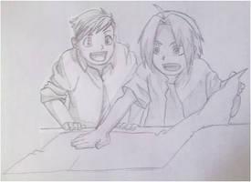 Edward and Alphonse by NaruHina1526