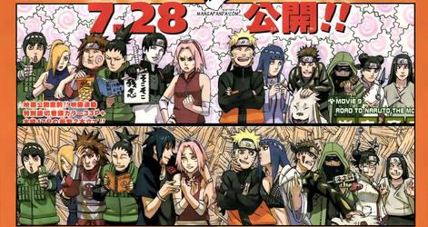 Character differences: Naruto Road to Ninja by NaruHina1526
