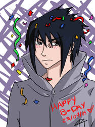 Happy B-Day Sasuke-kun! by NaruHina1526