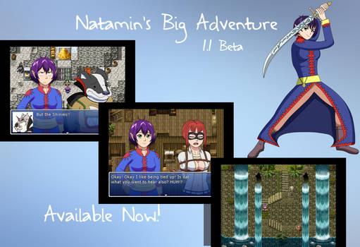 Natamin's Big Adventure 1.1 Beta is here! by Natamin