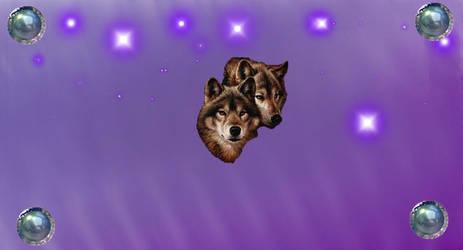 Purplewolf by LadyDarkStar