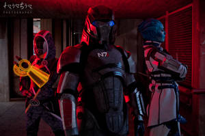 Mass Effect - We face our enemy together by sumyuna