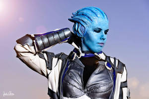 Liara T'Soni - End of a hard day by sumyuna