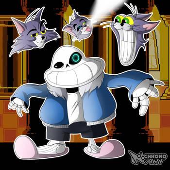 Sans (UNDERPANTS Fan-Art) by Chrono-The-Hedgehog