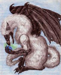Fuzzy dragon by XxTheLostxX