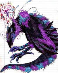 Bird dragon thingy. by XxTheLostxX